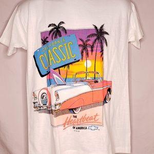 Vintage 90s California Classic Chevy Tshirt